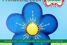 Primavera / spring 2014 / adornos de primavera, decoración, Spring Ornaments