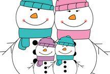 Zima - Vianoce