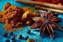 ősz -színek, fűszerek