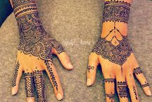 henné main mariage