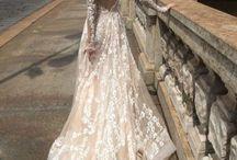 Hochzeitskleider mit Ärmeln / Hochzeitskleid, Lange Ärmel, Vintage, Romantik, Spitzenärmel