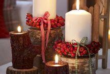 dekoracje jesienno zimoweä