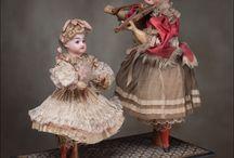 Куклы,модели, миниатюры...