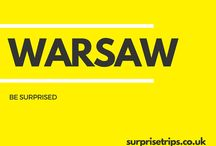 WARSAW / Fun tips, tricks and trips should you find yourself in the Polish capital of Warsaw. Would you like your next trip abroad to be a complete surprise? Find out more about our latest project at http://surprisetrips.co.uk/