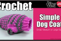 Crochet For Dogs / Crochet patterns for doggie items / by Jane Redican