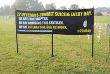 Veteran's Refuge Network: 660 White Crosses / Veteran's Refuge Network is displaying 660 White Crosses at the Ypsilanti Township Civic Center to represent the number of veteran suicides that will take place during Suicide Awareness Month. #22aDay #660whitecrosses