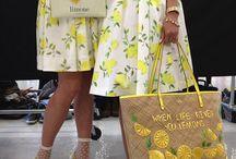 lemon embroidery