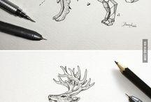 Pencil art