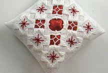 hardanger embroidery christmas