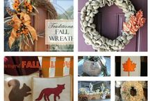 fall crafts / by Patty Gravel