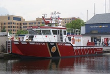 Fire Afloat / Fire and Rescue on the water