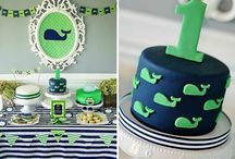 Festa tema baleia/whale themed party