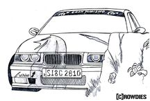 Zeichnungen / Get your Car drawn - by crowdies
