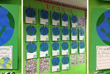 Kindergarten Earth Day...