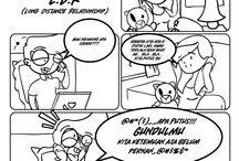 Gimbul / Indonesian Comic Strip