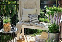 trädgård, altan. terass