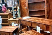 Furniture Displays / You can buy our furniture at Scott's Furniture in Delaware!