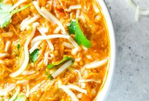 shredded chicken chilli