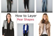 Styles for pear shaped bodies!