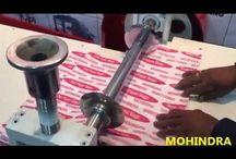 PAPER BAG CREASING MACHINE / paper bag making machine 09999 77 8804