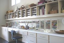 Business - Studio Setup / Creatives have the most creative ideas for studio setups. This board contains lampwork glass studio setups, metalsmithing benches and studio setups, jewelry making stations and miscellaneous craft room setups. Lots of great ideas for bead storage.