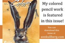 "My drawing in the July issue of the ""COLOR"" magazine."