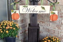 Curb appeal / Things to make my house look pretty ;) / by Kellie Fletcher