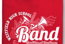 Marching band spirit wear