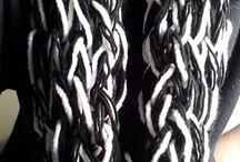 scarfs-cowls / handmade crochet scarf-cowl