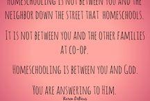 Homeschool Encouragement / by Misty Wyatt