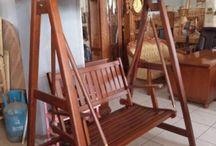 Ayunan ( Swing Chair ) / Jual Produk Ayunan Kayu Jati