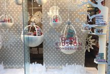 Christmas Windows / This year we're launching a competition to find the best Christmas window display. To enter your VM Christmas creation, click here http://www.retaildesignexpo.com/features/the-vm-christmas-awards
