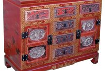 Chinese Antique Style Cabinets