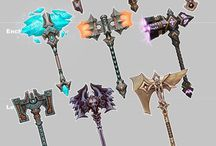 Weapons - Fantasy - Hammers