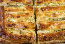Pastries - pies, quiche etc