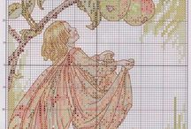 flowerfairie cross stitch