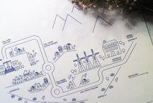 Bodas DIY - Mapas