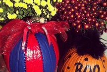 Hotty Toddy Halloween / We love it when you share your pictures of your Ole Miss fall decorations! Follow us @olemiss on Instagram.