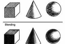 уроки рисования (штриховки)