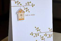 Cards- Birds