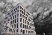 Rome: the squared Coliseum - Colosseo quadrato