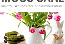 Moss cakes