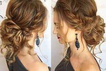 Boho Style Hairdress
