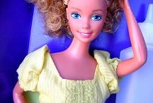 Magic curl barbie