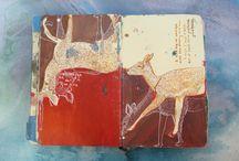 sketchbook /journal/artbooks / by agnes vogels