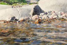 vesi maalaus