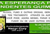 NACYR CURY - AURICULOTERAPEUTA / Terapeuta Holístico