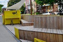 Intervention design urbain