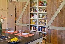 barn door / barn door decor, home decor