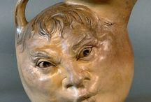 grotesque ceramic stuff